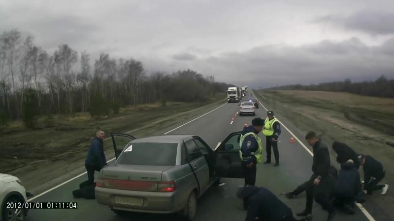 Облава на трассе М-5 Ульяновская область 20.04.18