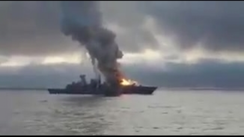 On June 21st, a major accident rocked the German frigate Sachsen F124 class an SM-2 missile failed to leave its launcher and bur
