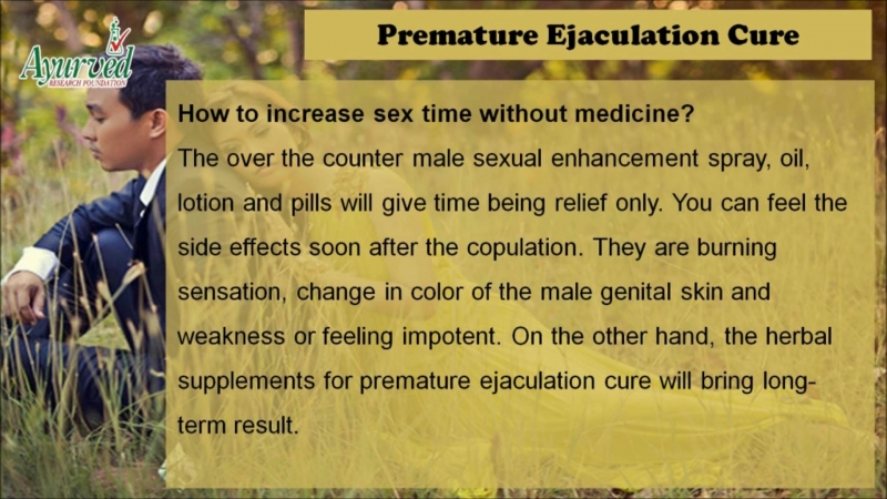 How to Improve Pleasure, Cure Premature Ejaculation Herbal Supplements?
