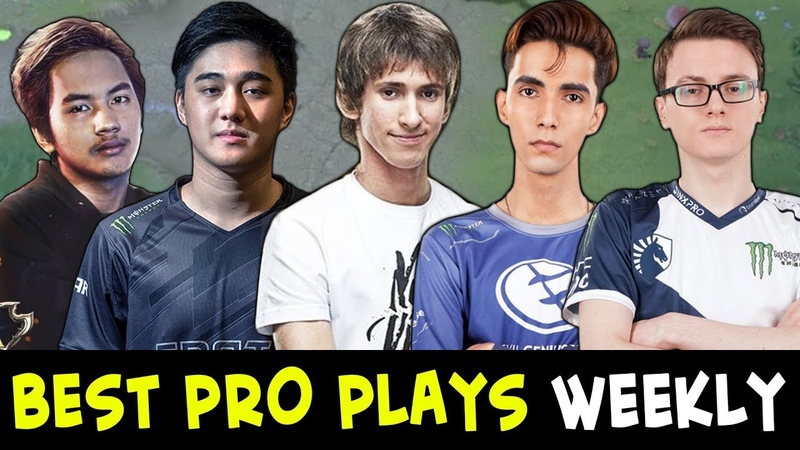 Best PRO plays of the week 16 — Dendi, Miracle, InYourDream, Abed