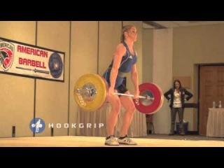 Mattie Rogers - 85kg Snatch & 100kg Clean