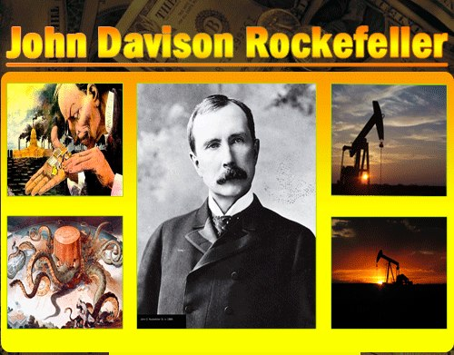 a biography of john davison rockefeller