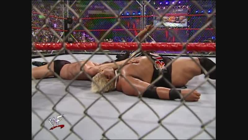 Val Venis Vs Rikishi - Intercontinental Championship - Steel Cage Match - Fully Loaded 2000