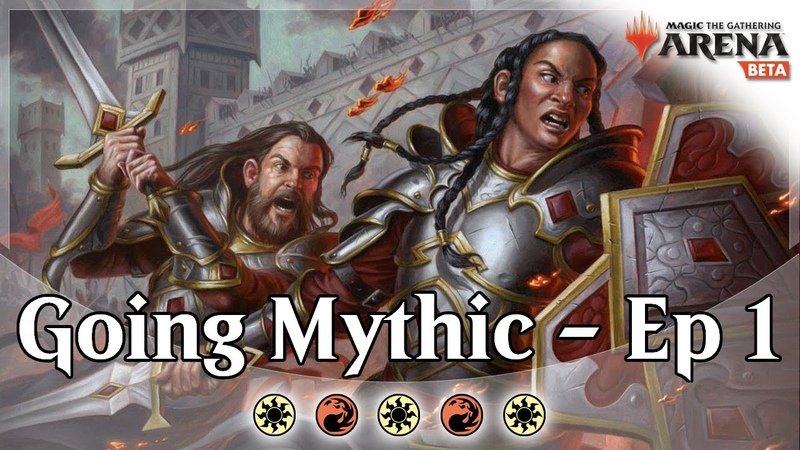 Going for Mythic Ep 1 Boros Aggro MTG Arena Bo1 Competitive Constructed Gameplay