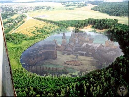 Град Китеж действительно расположен у озера Светлояр