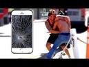 Разбивает телефоны прохожих! Жёсткая Реакция