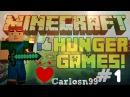 Играем с Natakorn в Hunger Games - 1 (Нубас ну просто Класс!)
