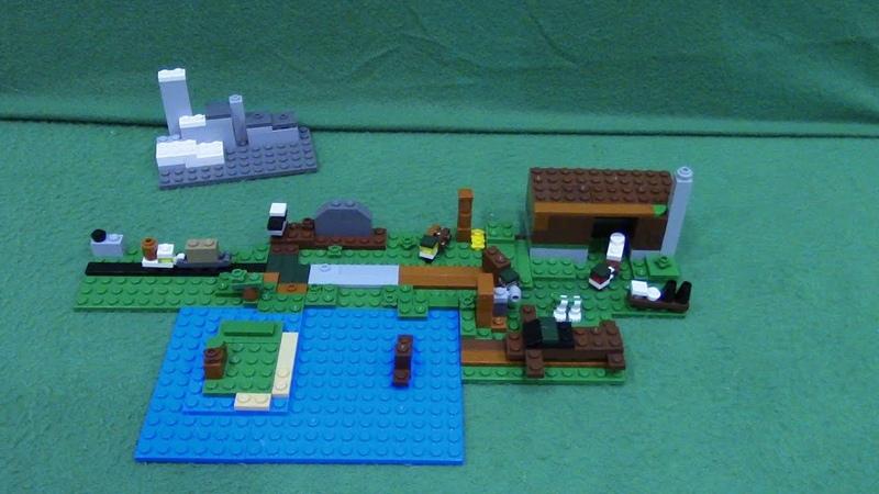 мини самоделки из LEGO