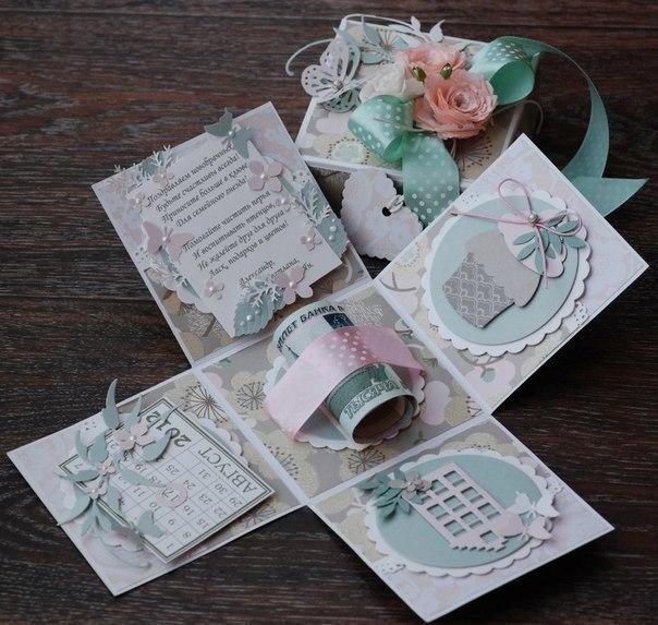 Идеи оформления свадебного подарка в виде денег 7