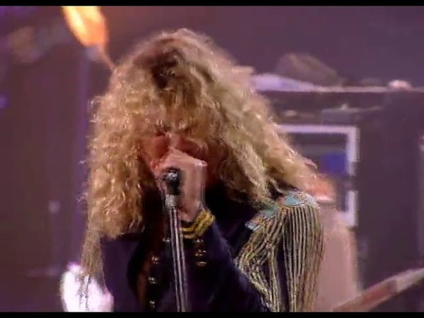 Jimmy Page and Robert Plant No Quarter Black Dog