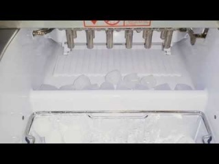 Как работает бытовой льдогенератор.