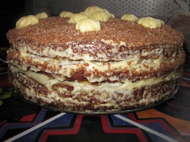 торт трухлявый пень в мультиварке рецепты с фото