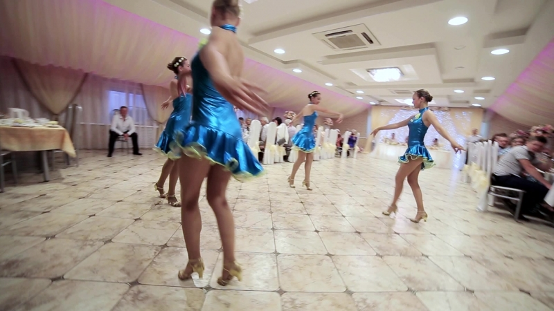 Свадебное выступление театра танцев Империя
