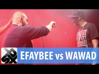 EFAYBEE vs WAWAD | French Beatbox Championship '13 | 1/8 Final