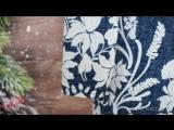 Туника Модель Т 600.18 Под джинс с белыми цветами (52-62) 1230р. [СОНЛАЙН]
