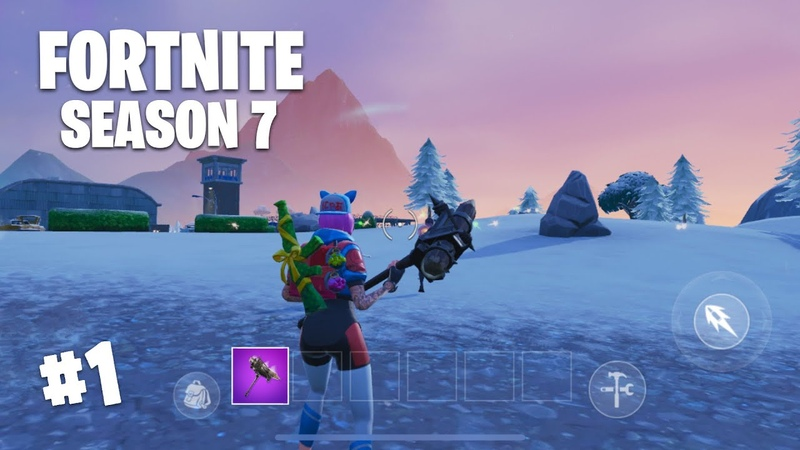 FORTNITE MOBILE - SEASON 7 GAMEPLAY - VICTORY ROYALE (iOS/Android)