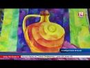 Посыл добра и света. В Музее истории города Симферополя проходит выставка работ юной художницы Анастасии Швец
