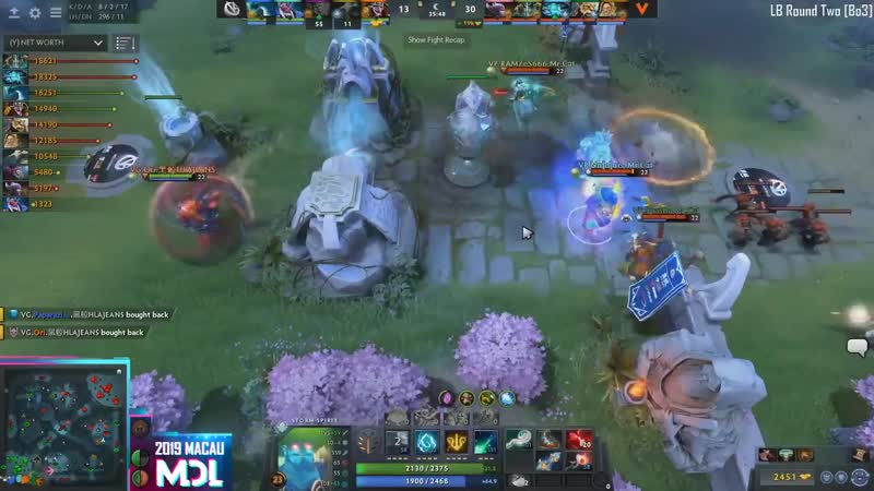 The Storm Spirit pays off as @virtuspro eliminate @ViCi Gaming from MDLMacau 2 1 The bears continue their bloody streak on the