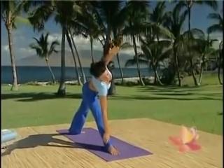 Sara Ivanhoes 20 min Yoga Makeover - Weight Loss1