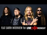 FLAT EARTH Interview with Tony &amp Niclas - Helsinki 2018 I Liver After Midnight