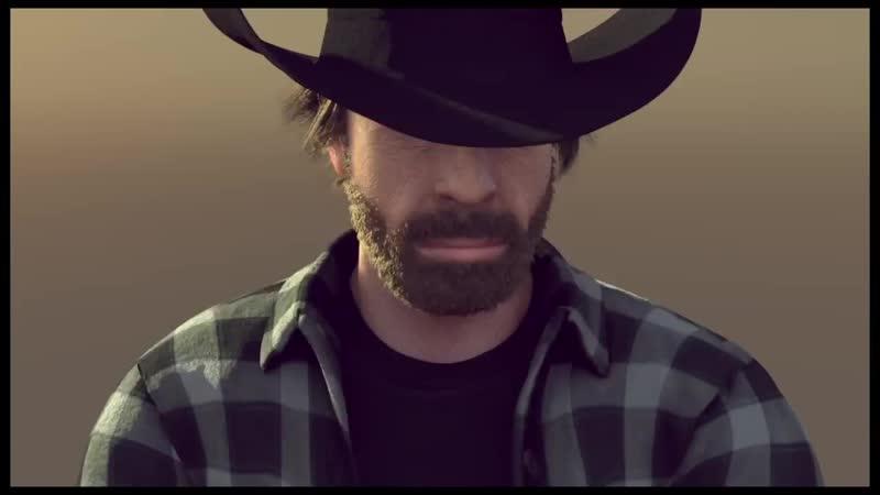 Animert Chuck Norris tar «split» mellom to fly i ny Van Damme-parodi