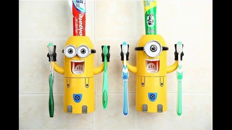 Миньон дозатор для зубной пасты
