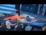 Cee lo Green Leaves Grammy Awards 2017 in Batman Batmobile Car