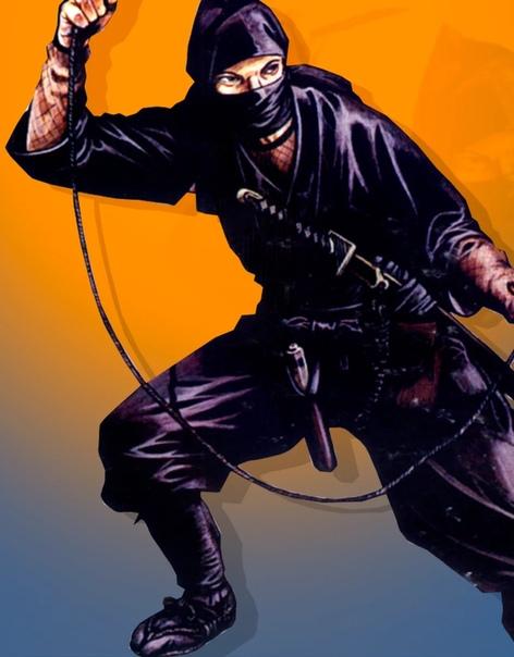 Костюм и экипировка ниндзя таинственных японских воинов 15-17 вв. Ниндзя или синоби это скрытные воины, аналог секретной разведке. За которыми числится множество смертей, но доказать большинство