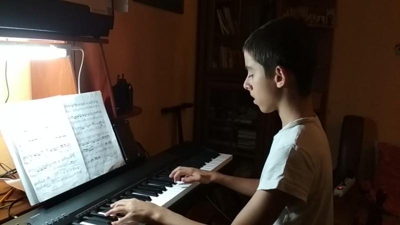 Bach Prelude N.8 Well Tempered Clavier, Book 1 Произведение не простое очень не простое и красивое очень! Слава СПАСИБО