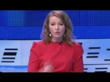 Дебаты 5.03.2017г. Выступление Ксении Собчак