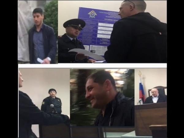 Сочи.Вручение повестки 19,3 журналисту-блогеру Станиславу Андрееву. Суд 19,3 «Виновен-500 руб штраф»