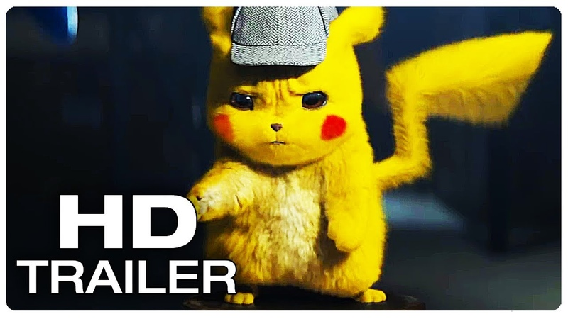 POKEMON DETECTIVE PIKACHU Official Trailer (NEW 2019) Ryan Reynolds Movie HD
