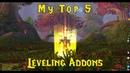 Vanilla WoW Top 5 levelling Addons