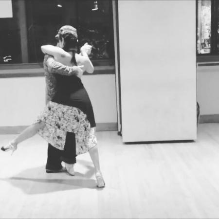 "Parejas de Tango on Instagram ""☟ 👫Cristina Hadas Homer ♪Down 🎤Jason Walker ▶From Youtube {Tango Lesson A Volcada Odyssey (Advanced Seminar)} -..."