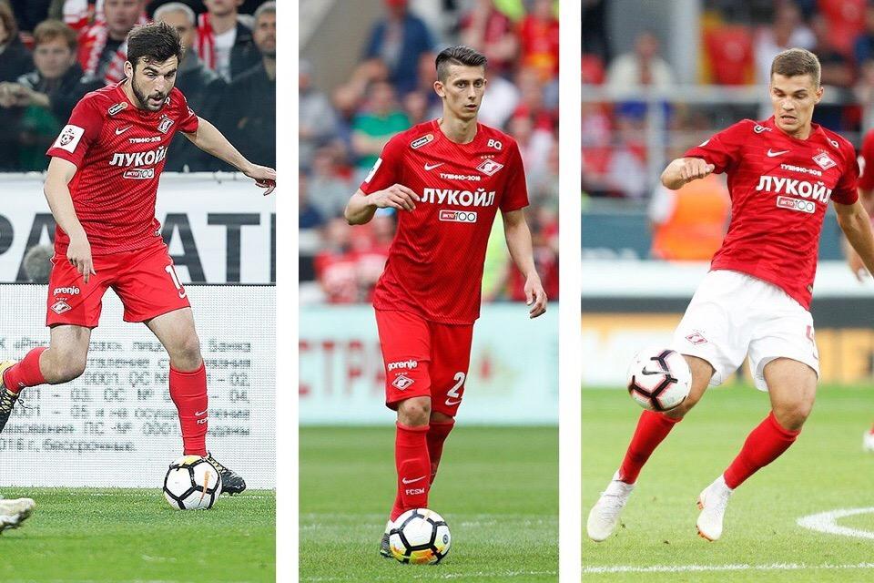 Джикия, Кутепов и Зобнин вызваны в сборную России
