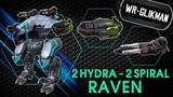 War Robots. Raven 2 Hydra 2 Spiral MK2. Великий Раздражитель.