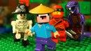 ТОП 5 МИНИФИГУРОК Лего Ниндзяго и НУБик LEGO Minecraft - Мультики Все Серии Подряд СБОРНИК для Детей