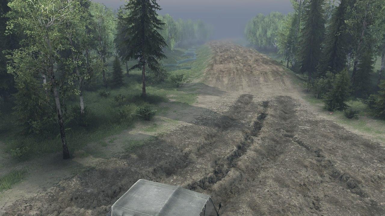 """Карта """"Ежово"""" для Spintires - Скриншот 3"""