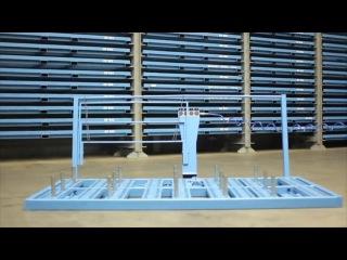 Платформа на воздушной подушке для транспортировки листов металла весом до 3 тонн