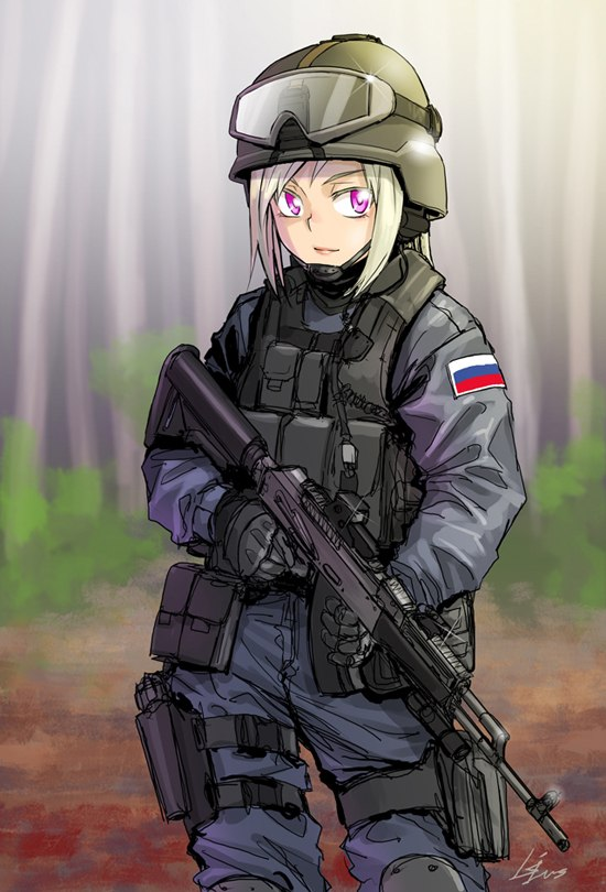 1000+ images about militar anime girl on Pinterest