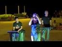 Концерт на набережной вечером рядом с рестораном Луизиана Вьетнам Нячанг 2018