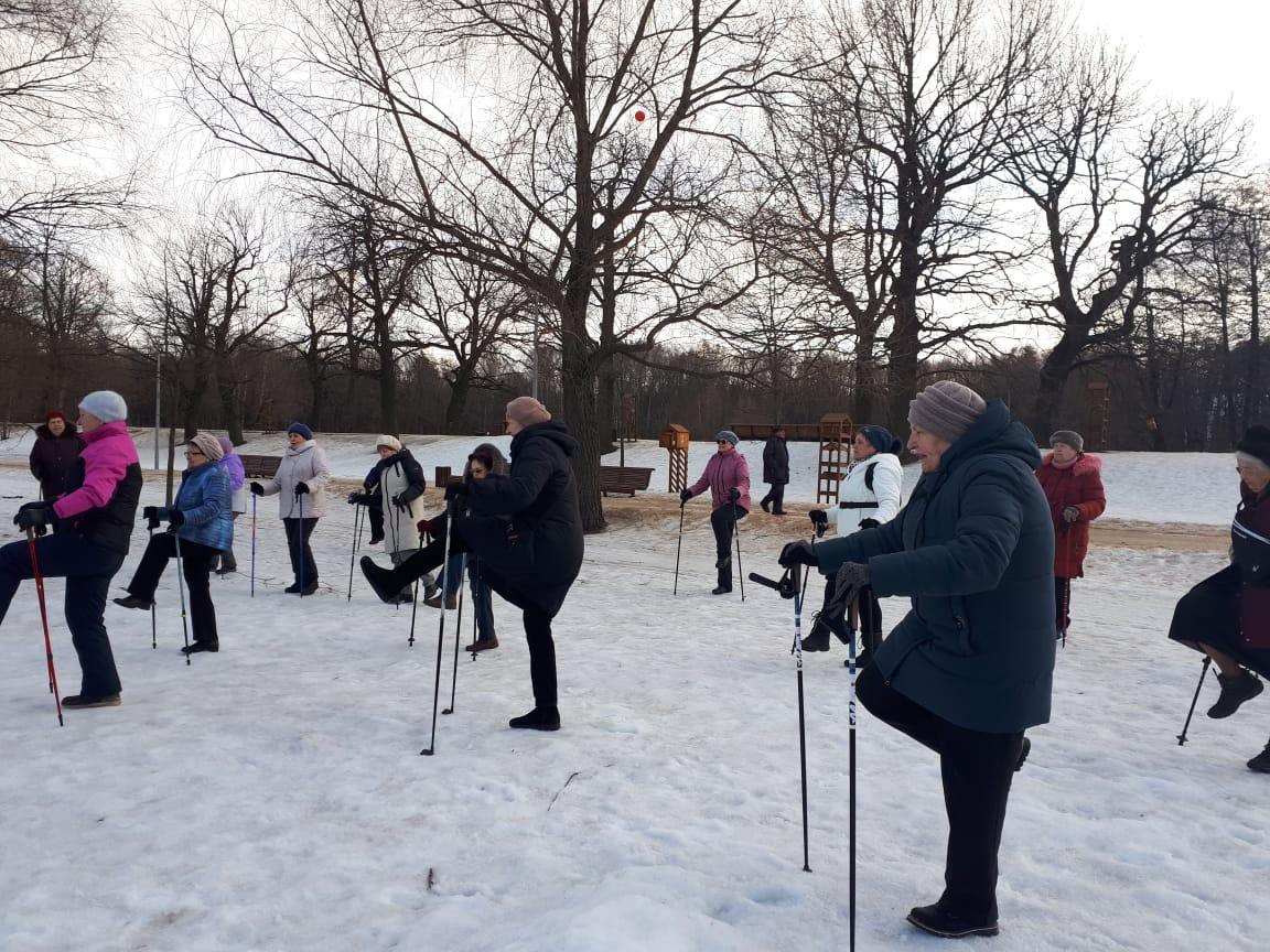 Соревнование по скандинавской ходьбе - Терлецкий парк