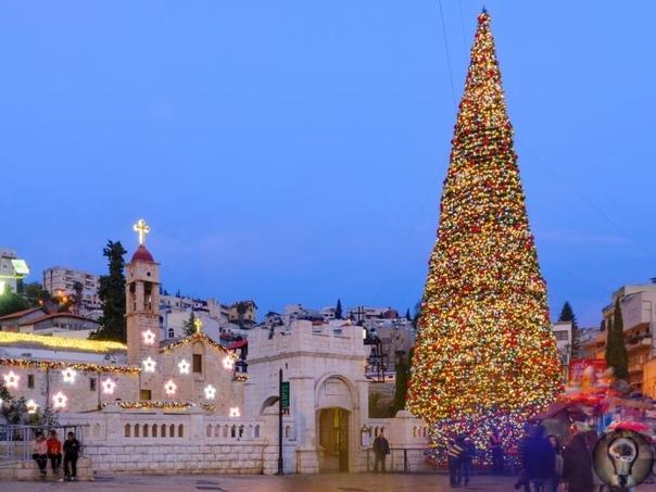 5 мест для встречи незабываемого Рождества 1. Вифлеем, Западный берег реки Иордан К сожалению, сегодня настоящий смысл Рождества, его суть, зачастую теряется, заменяясь утомительной