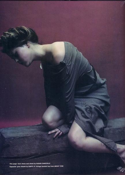 Подборка фотографий известной фотомодели Девон Аоки, 1996 год. Автор: Mario Sorrenti.