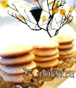 Просто расчудесные печеньки – хрустящие снаружи и нежнейше-мягкие внутри!