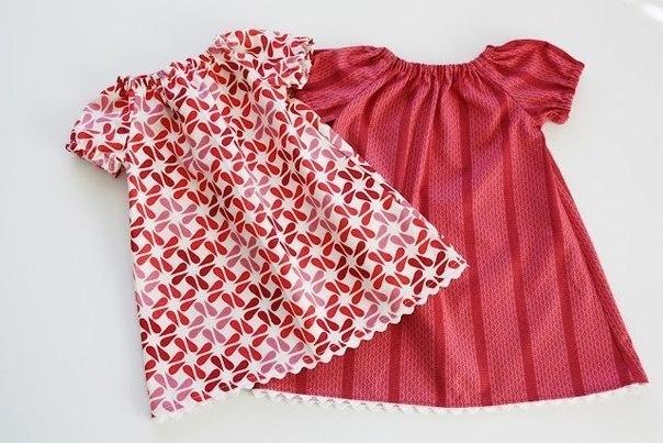 Шьем летнее детское платье (9 фото) - картинка