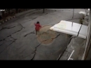 Ground cracking and moving during a magnitude 7.5 earthquake in Central Sulawesi, Indonesia
