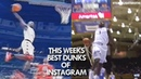 BEST DUNKS on INSTAGRAM featuring Lebron, Zion Williamson and Vince Carter!