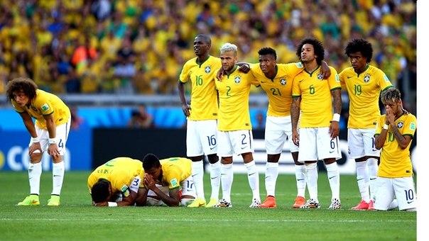 Бразилия на футбол германия ставки