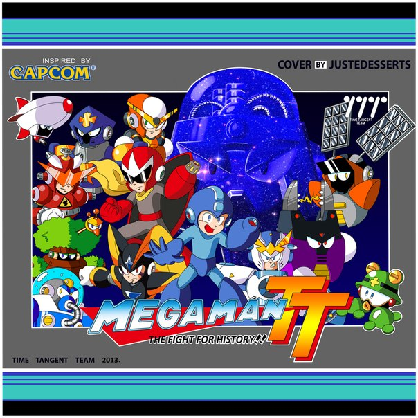 Time Tangent Team - Mega Man Time Tangent - The Fight for History